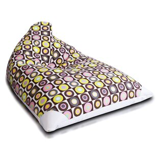 Large 100% Cotton Bean Bag Chair & Lounger By Furini